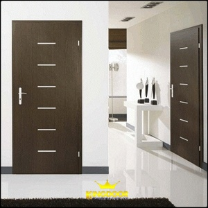 Cửa ra vào ở các ngôi nhà cao cấp, nhất là các căn hộ cao cấp thường dùng gỗ công nghiệp để lắp vào lối đi.