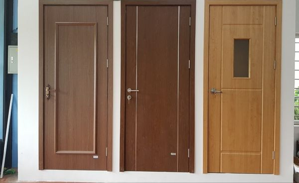 Mẫu cửa nhựa gỗ Composite